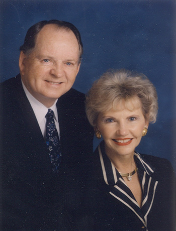 Johnelle and the late J.B. Hunt