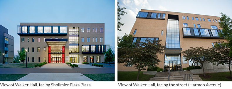 What does Walker Hall Look Like?