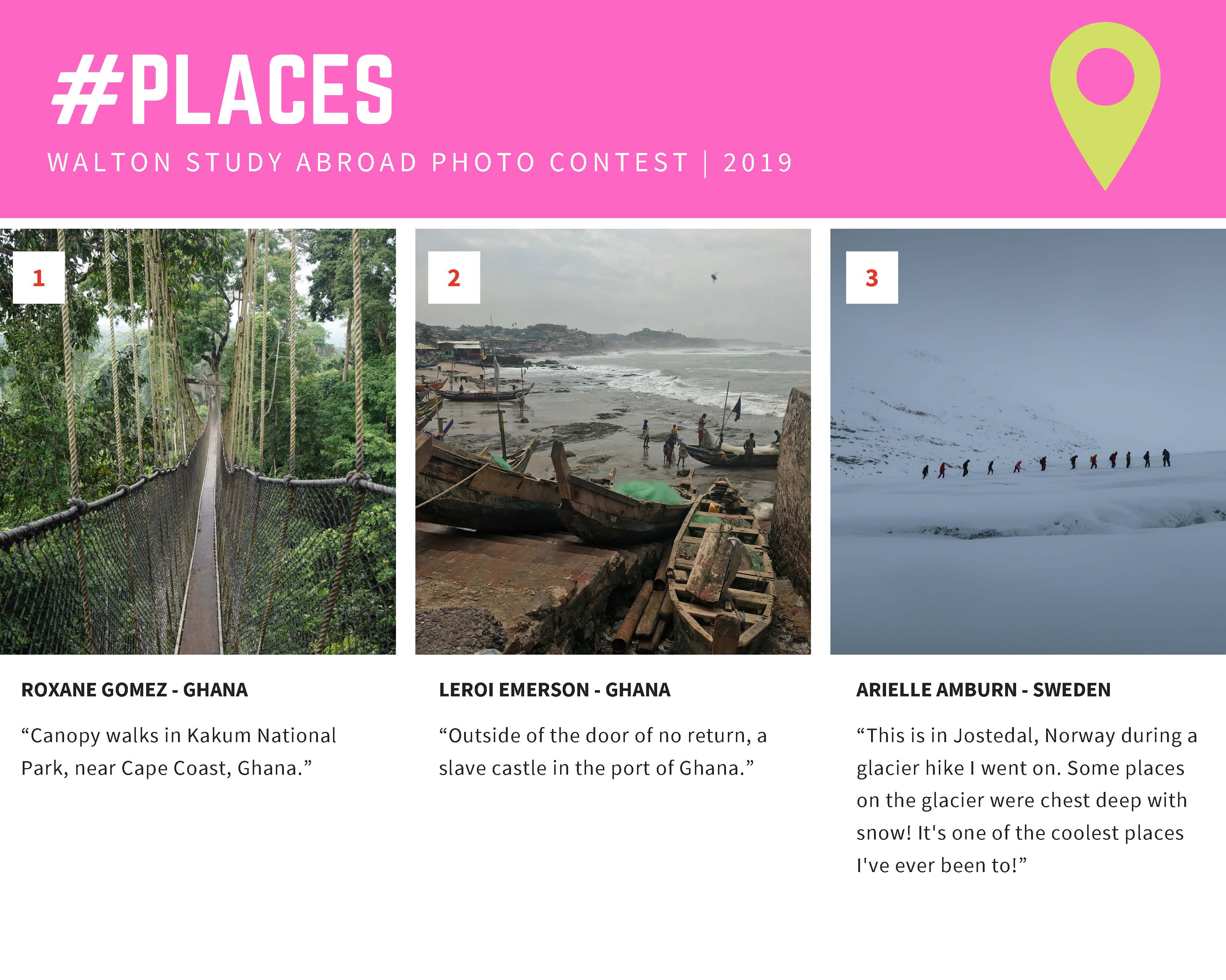 #places winners