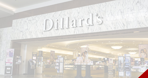 Dillard's store front