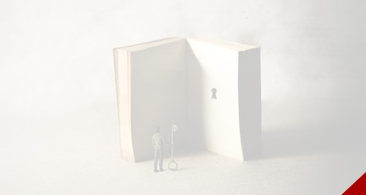 Book with a key